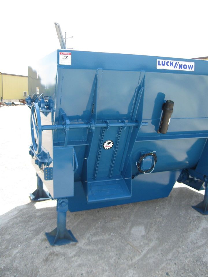 Horizontal Mixers - Stationary - Lucknow Products