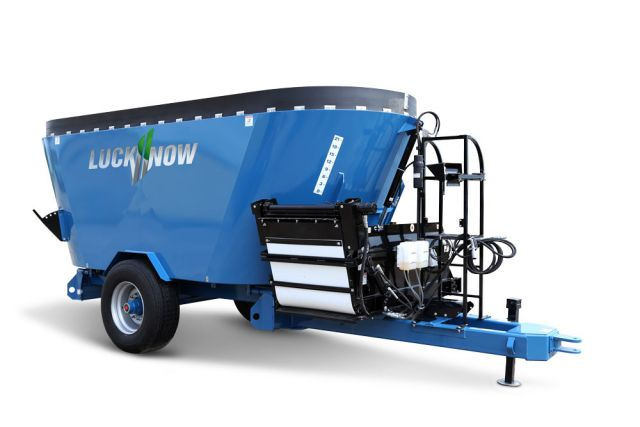 Twin Screw Vertical Mixers - Trailer - Lucknow Products